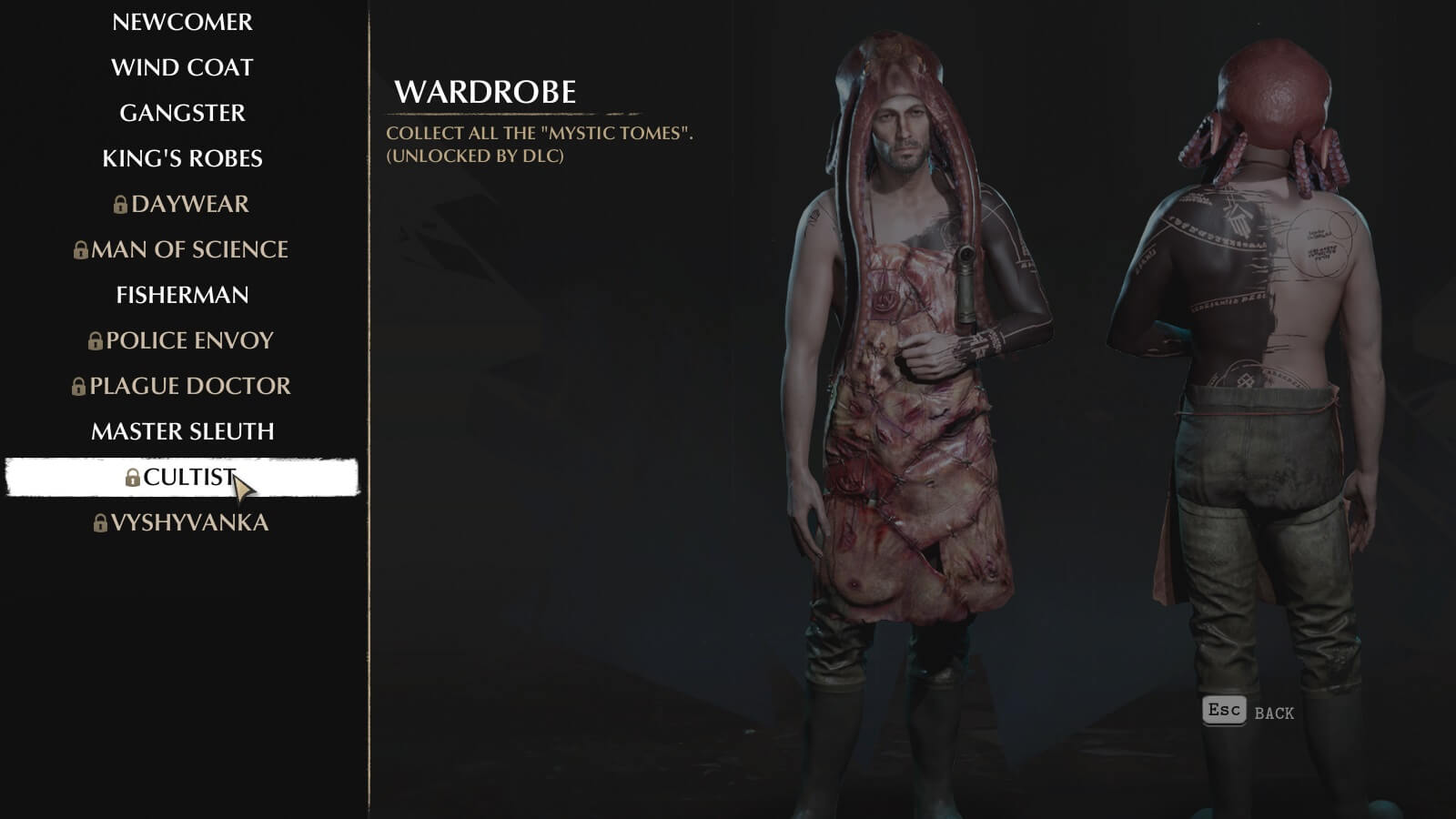The Sinking City Outfits - How to unlock all Costumes