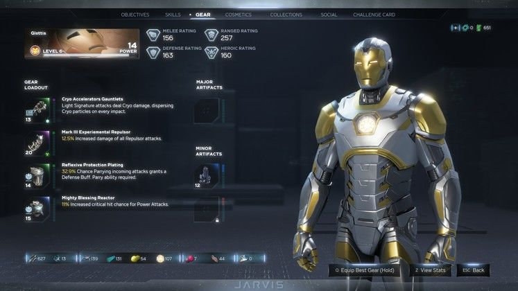 Marvel Avengers Level and Gear Guide