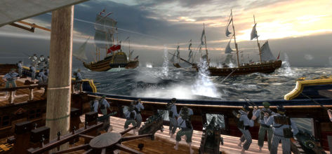 Empire: Total War's 1.3 update packs