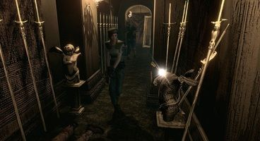 Check out just how different the Resident Evil HD Remake looks