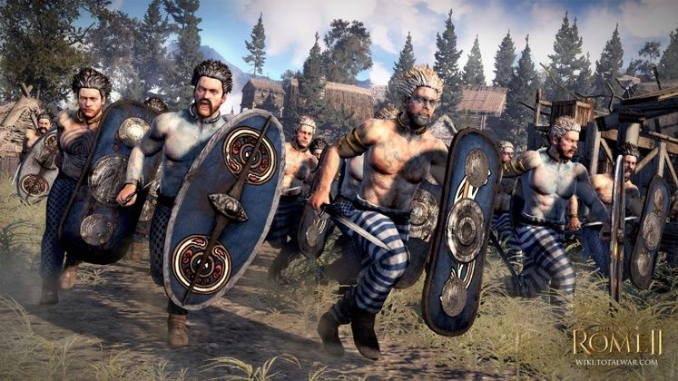 Iceni faction latest reveal for Total War: Rome II