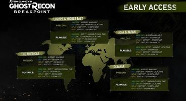 Ghost Recon Breakpoint Pre-loading Now Live on PC, Install Size and Start Time Revealed