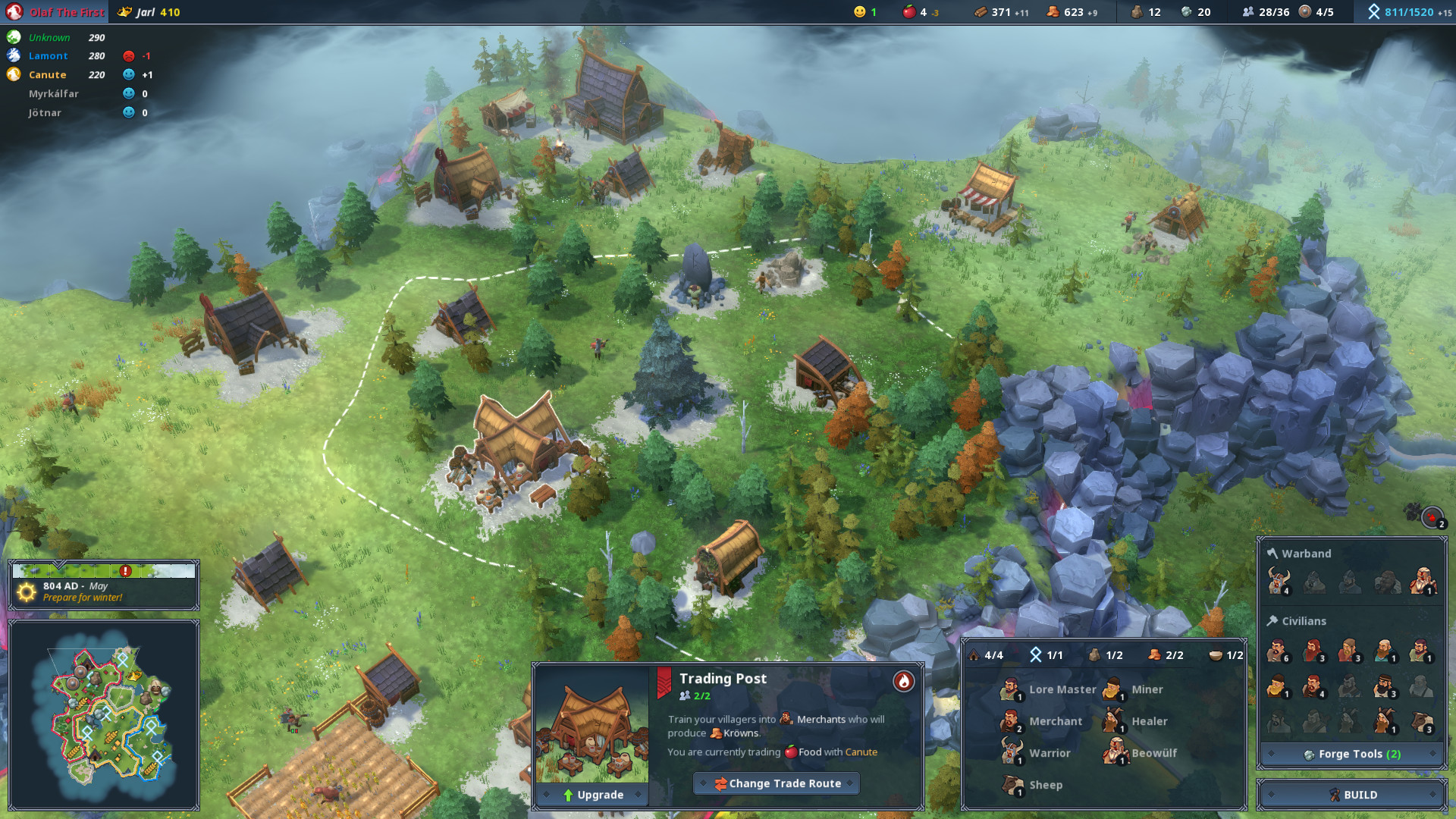 Real Time Strategy Games 2020.Viking Strategy Game Northgard Hitting Consoles In 2019