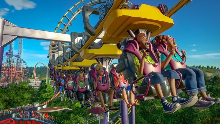 Planet Coaster The Magnificent Rides Collection Pack Releasing This Month