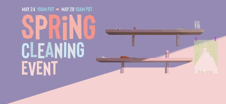 Steam Spring Cleaning Event Now Live!