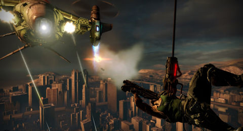 Capcom stamps Bionic Commando with PC date, to arrive July 17th