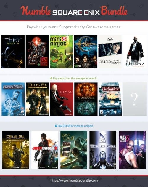 Square Enix Humble Bundle offers some really good games and Daikatana