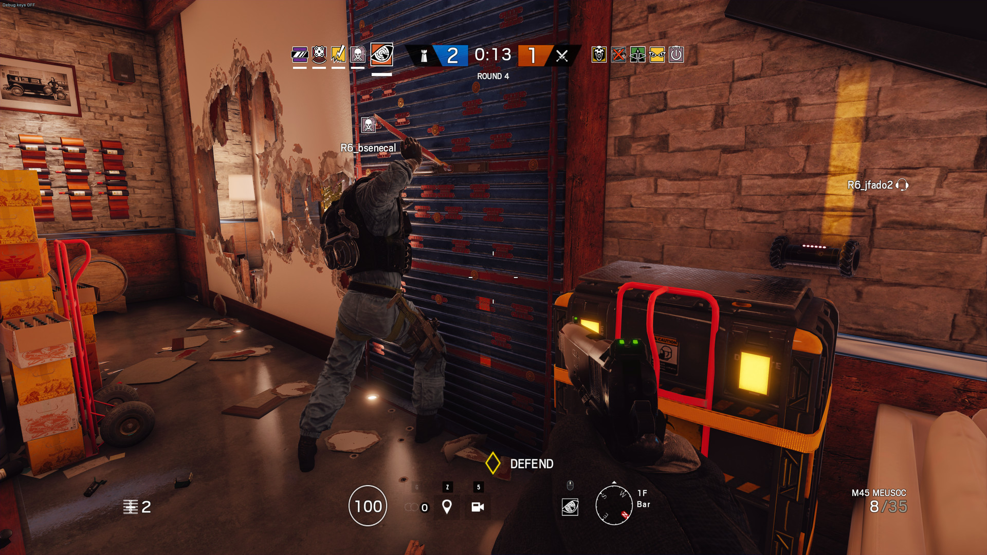 Rainbow Siege Siege Red Triangle - What Does It Mean