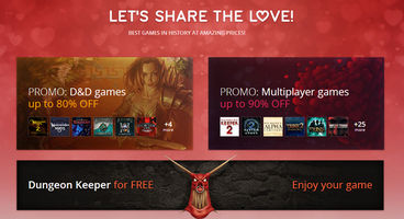 GOG.com celebrates Valentines with free Dungeon Keeper, up to 90% off games
