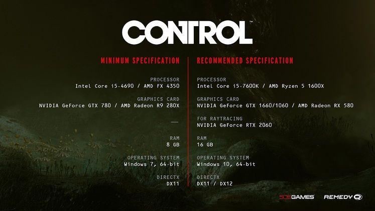 Remedy says Control