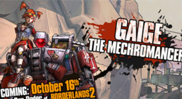 Gaige the Mechromancer out October 16th, free for