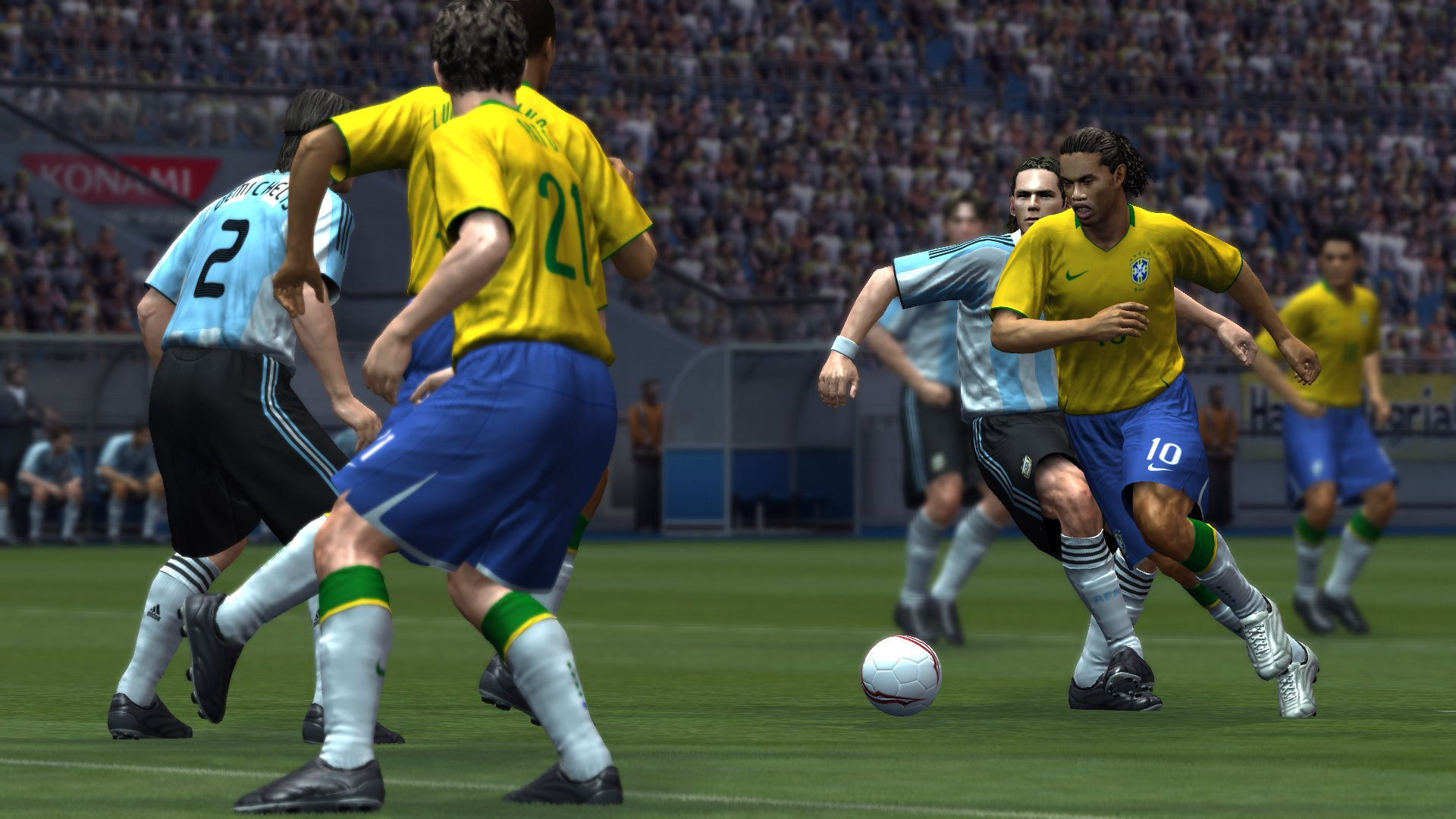 Konami announces PES 2009 for PS3, Xbox 360 and PC | GameWatcher