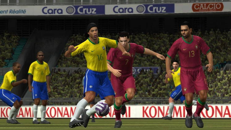 Konami sets date for Wii version of Pro Evolution Soccer 2008