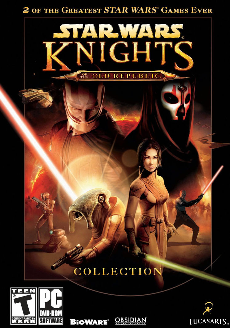 Knights of the Old Republic Collection outed by Amazon, GameStop listings