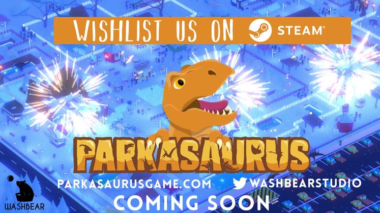Theme Park Management Game Parkasaurus Announced