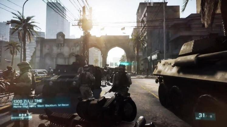Battlefield 3 won't have enter/exit vehicle animation