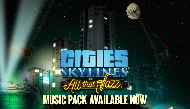 Jazz Boatman Returns in Cities: Skylines 'All That Jazz' DLC, Out Now