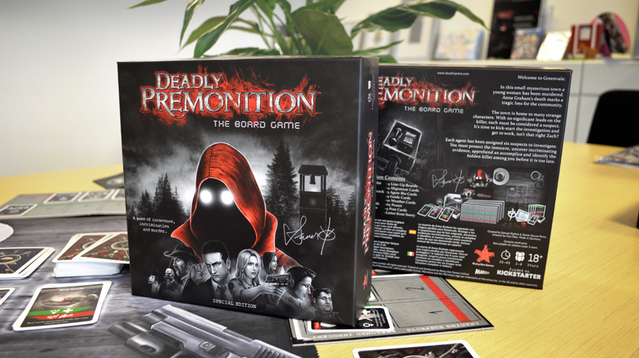 Deadly Premonition: The Board Game finished, starts shipping December