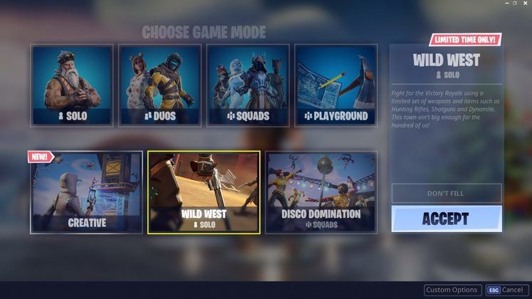 20 New Fortnite Limited Time Modes Leak