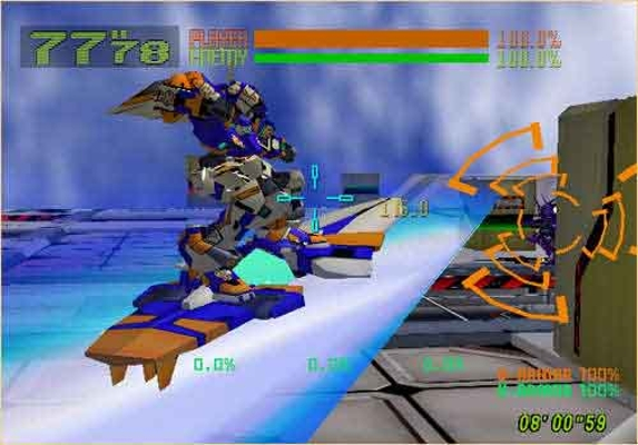 [Análise Retro Game] - Cyber Troopers Virtual-On - Sega Saturn/PC/PS2/PS3 0006211