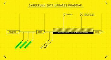 Cyberpunk 2077 Update Roadmap Reveals Patch 1.1 Date, DLC Plans and More