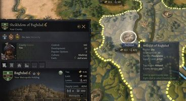 Crusader Kings 3's Cities of Wonders 2 Mod Lets You Build Powerful Metropolises