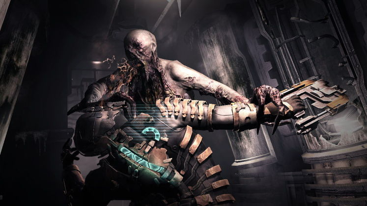 Dead Space 2 originally far more difficult