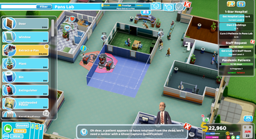 Two Point Hospital will only get