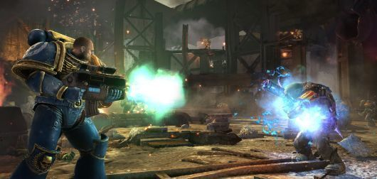 Warhammer 40,000: Space Marine update available