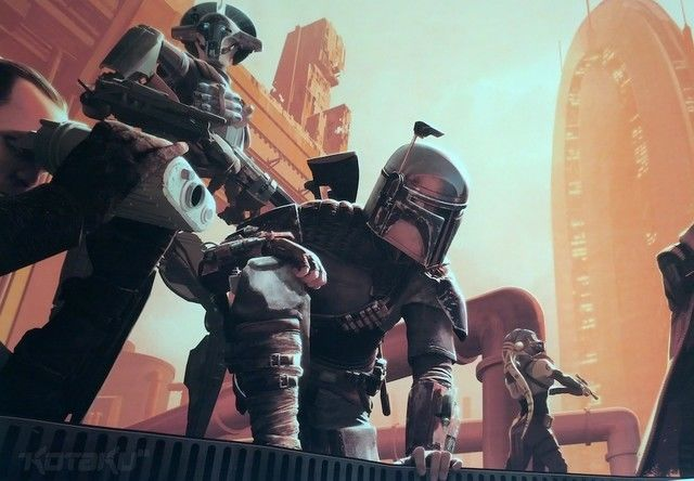 Star Wars 1313 was to have starred Boba Fett after all