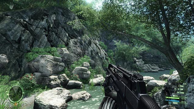 Console version of Crysis digital only