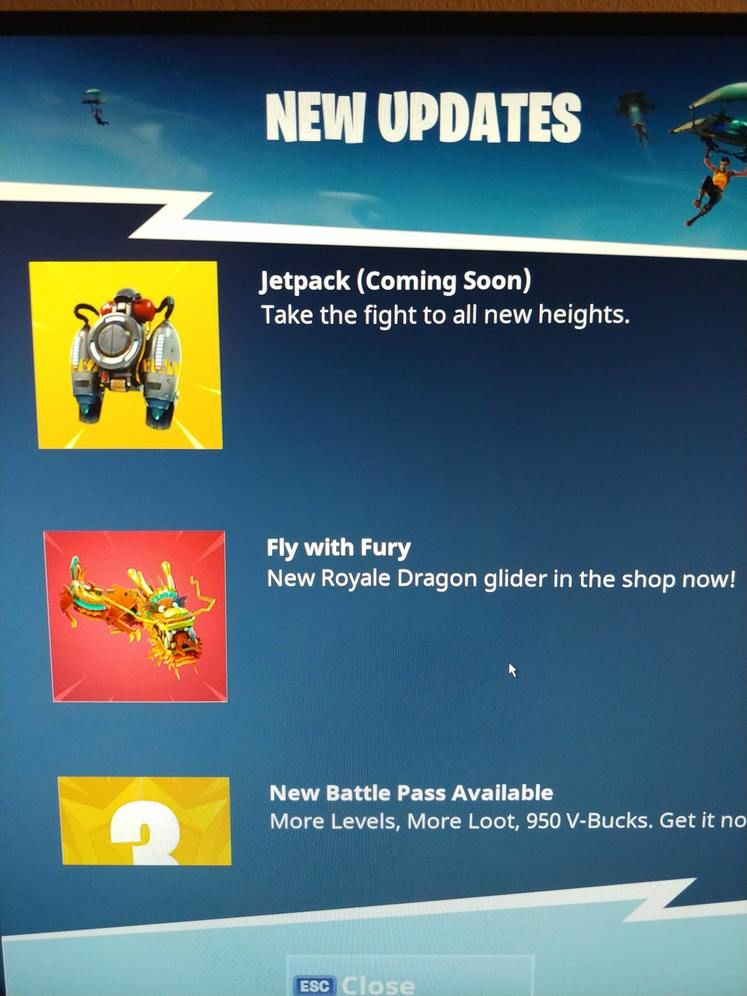Jetpacks Are Coming To Fortnite