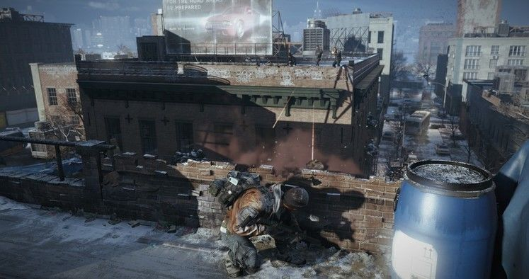 New screenshot released for open-world shooter The Division