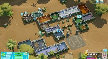 Two Point Hospital Overgrowth - Beat the Pebberley Island Overgrowth Level