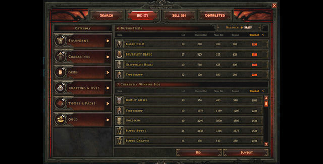 1.03b patch adds commodity trading in Diablo III auction house