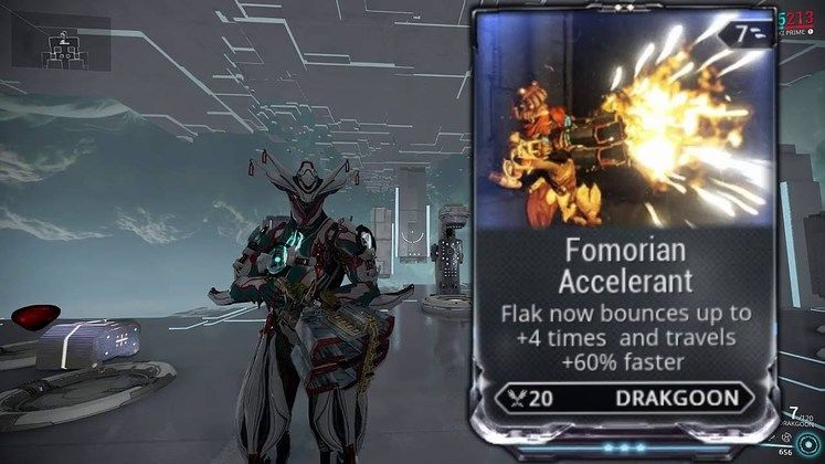 Warframe Drakgoon - How to get the Flak Cannon