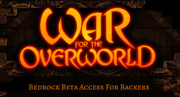 War for the Overworld's Bedrock Beta now available on Steam