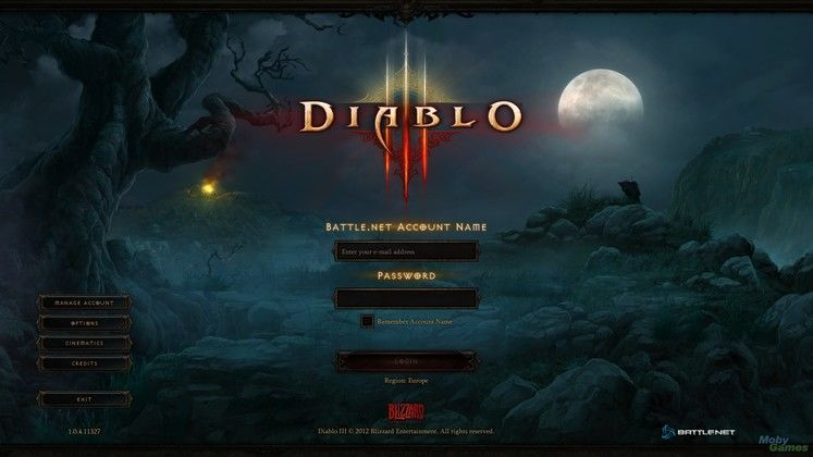 Blizzard: PC version of Diablo III will remain online only