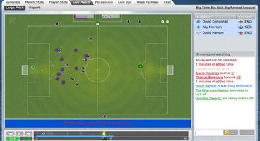 Sports Interactive's Football Manager Live