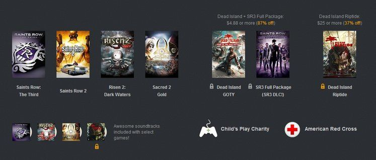 New Humble Bundle features Deep Silver games