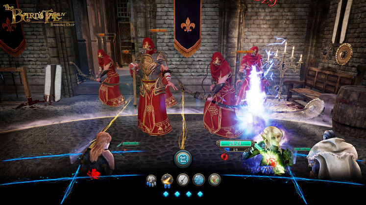 The Bard's Tale 4: Barrows Deep Full Demo Walkthrough Gameplay Video