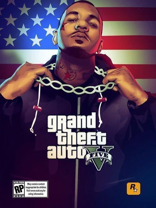 Rapper 'The Game' appears in GTA V artwork on Facebook