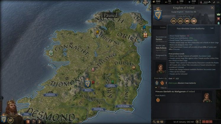 Crusader Kings 3 Succession Guide