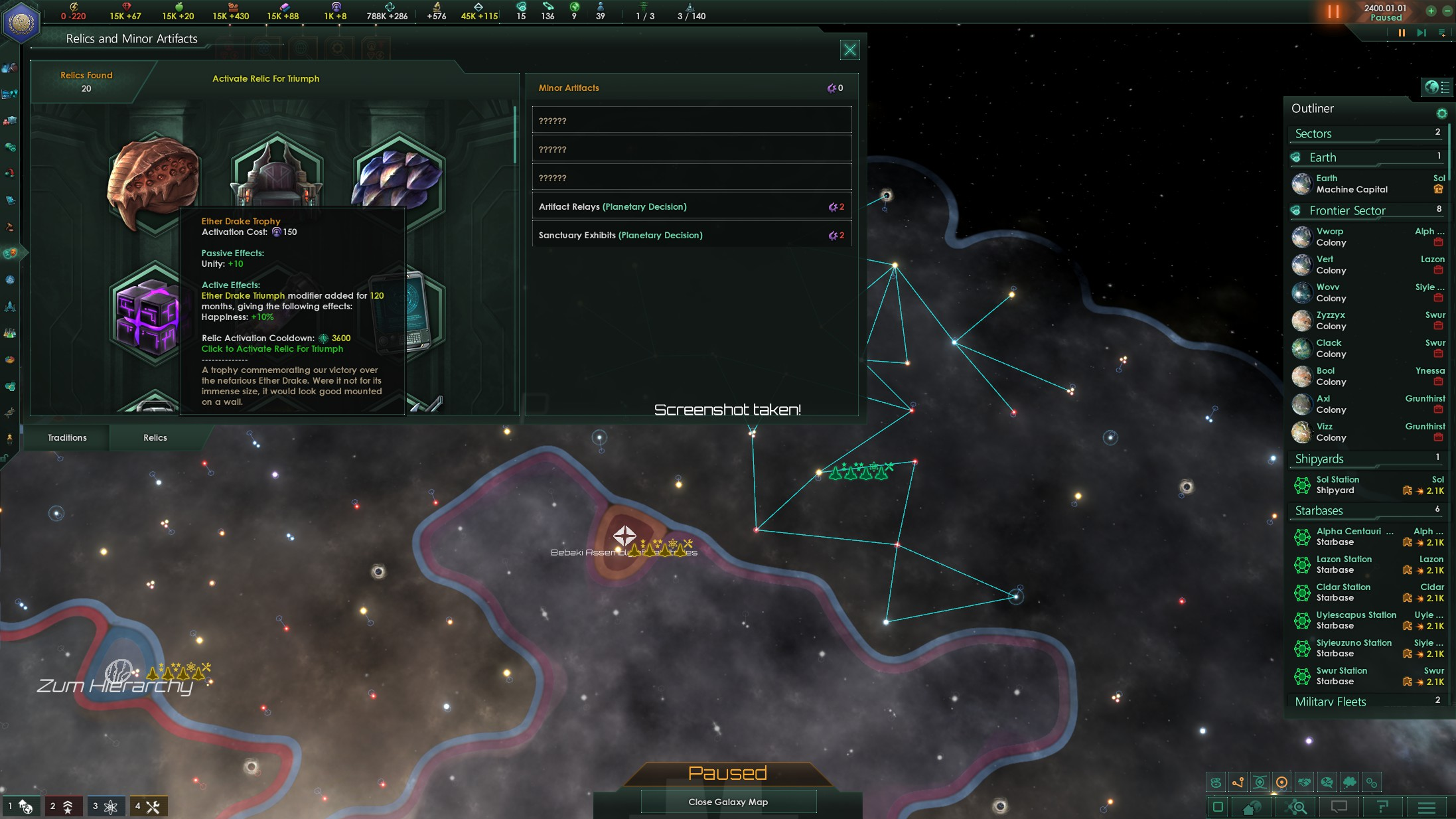 Stellaris: Ancient Relics Story Pack PC Review   GameWatcher