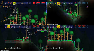 Multiplayer screens for Terraria revealed for PSN, XBLA version