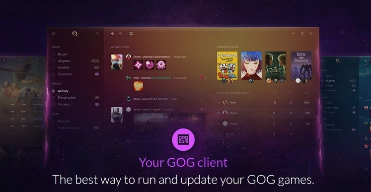 GOG Galaxy 2.0 will unify PC and Console Games in one App