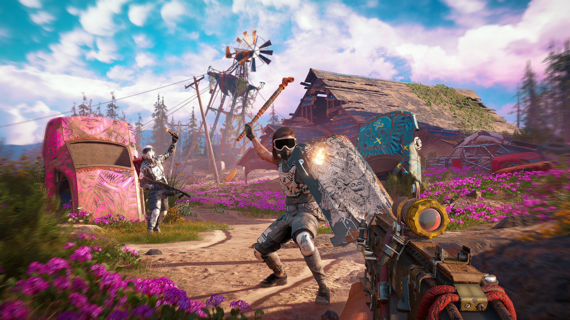Far Cry New Dawn Multiplayer - Co-Op, PvP, and Map Editor Supported