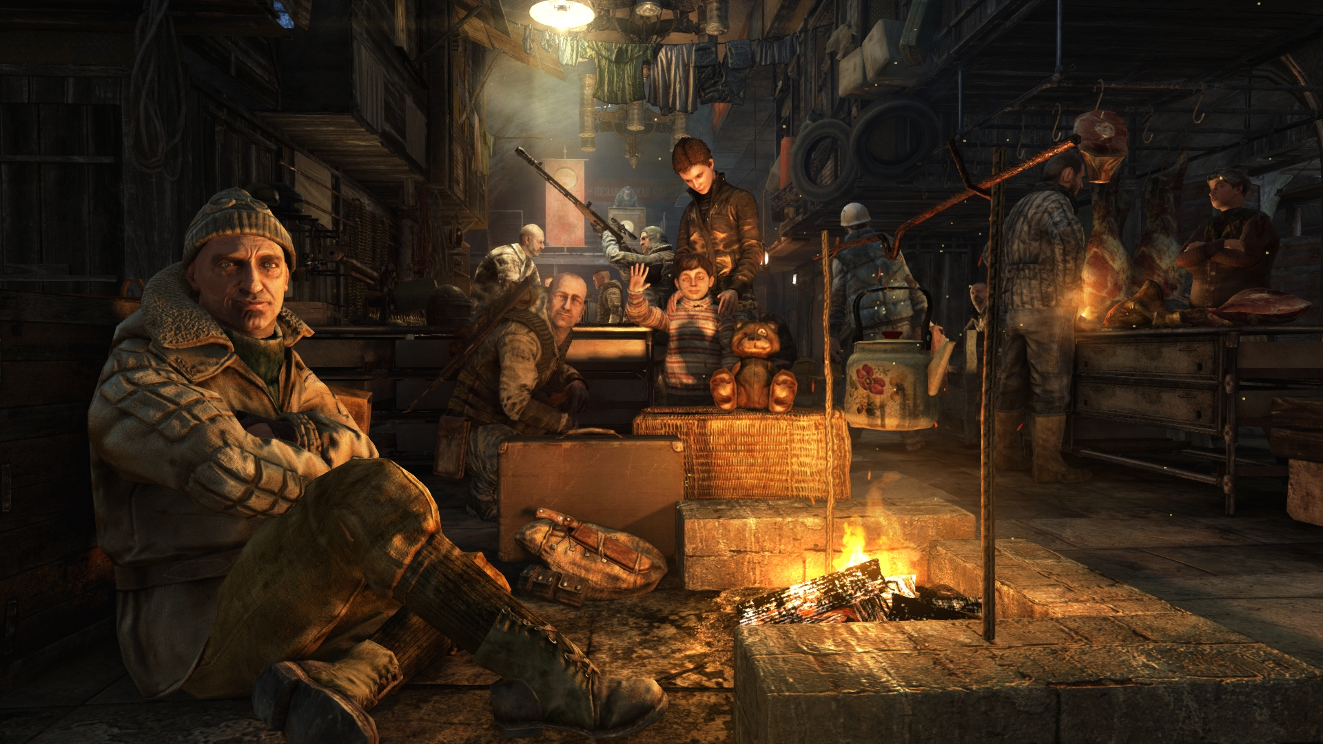 metro 2033 how to change difficulty