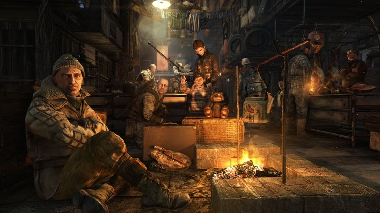 New screenshots show the remastered world of Metro Redux