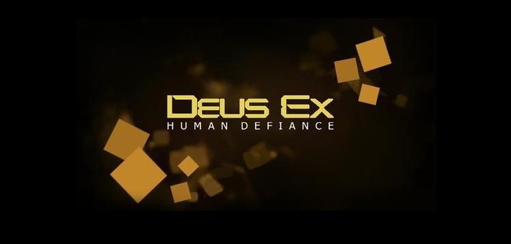 Square Enix confirms Deus Ex: Human Defiance is a game, reveal today <Update: April Fools>